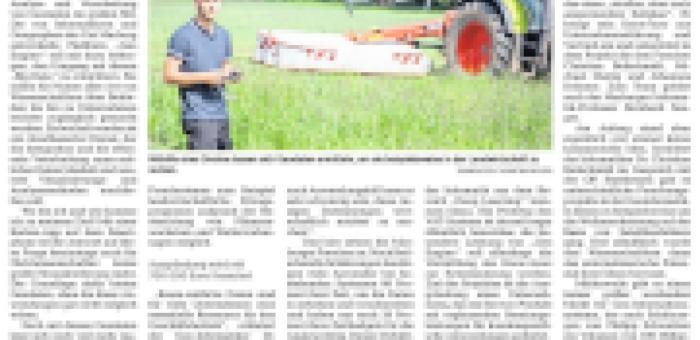 Geo Engine in der Oberhessischen Presse